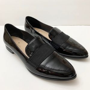 Kate Spade New York sz 6 black womens loafers